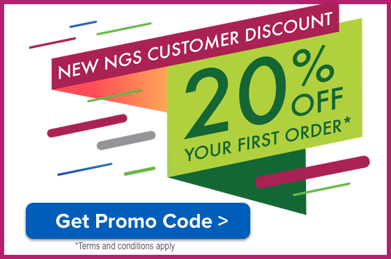 New NGS Customer Discount